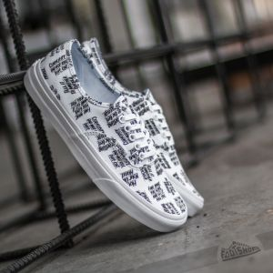 Vans Authentic (Baron Von Fancy) White/ Black EUR 36
