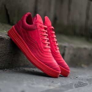 Filling Pieces Low Top Wavy Red US 8