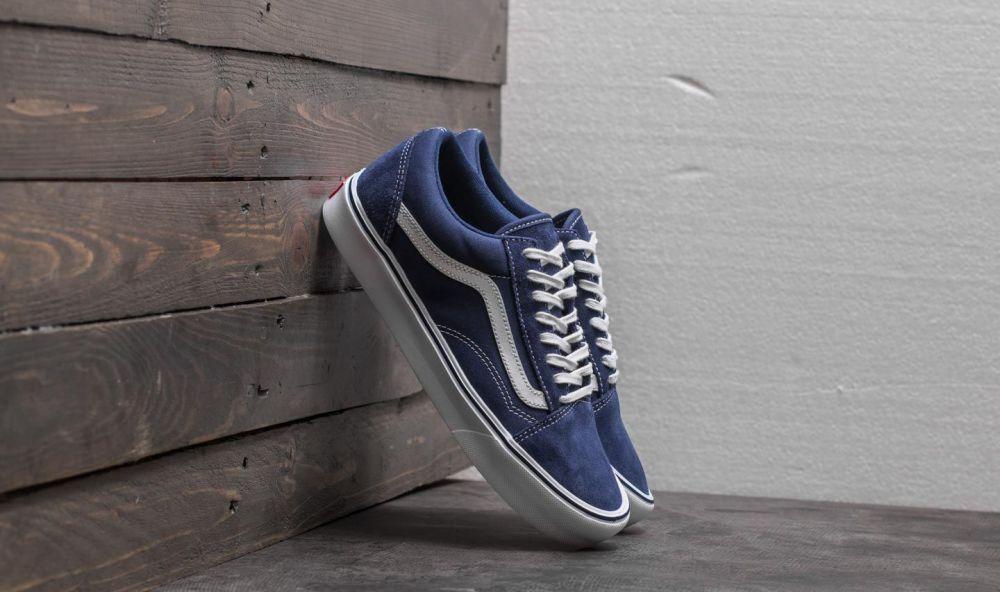Vans Old Skool Lite (Suede  Canvas) Blue Depths EUR 40.5 značky Vans -  Lovely.sk 5f86687e296