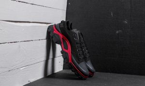 adidas x Raf Simons New Runner Core Black/ Scarlet/ Core Black EUR 41 1/3