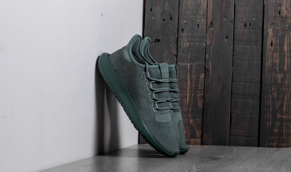adidas Tubular Shadow Trace Green/ Trace Green/ Tactile Yellow EUR 44 2/3