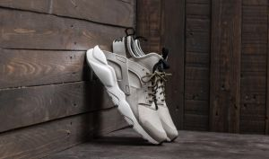 Nike Air Huarache Run Ultra Pale Grey/ Black-Cargo Khaki EUR 45.5