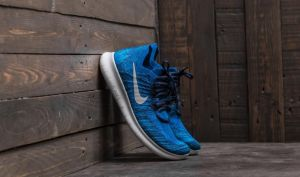 Nike Free Run Flyknit 2017 Deep Royal Blue/ Wolf Grey EUR 41