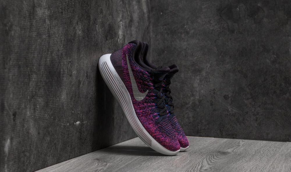 Nike Lunarepic Low Flyknit 2 Black/ Reflect Silver EUR 41