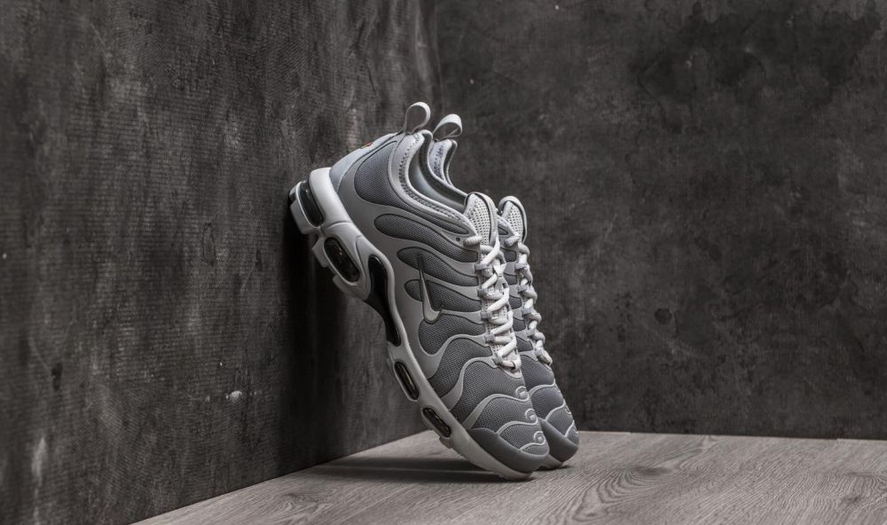 Nike Air Max Plus TN Ultra Cool Grey/ Wolf Grey-Black EUR 40