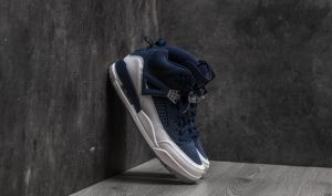 Jordan Spizike Midnight Navy/ Metallic Silver EUR 41