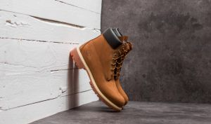 Timberland Waterproof 6-Inch Premium Boot Rust Orange EUR 41.5