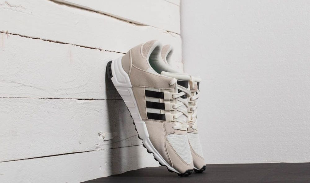adidas EQT Support RF Off White/ Core Black/ Clear Brown 7.5