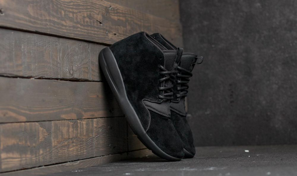 Jordan Eclipse Chukka Leather Black/ Black EUR 40.5
