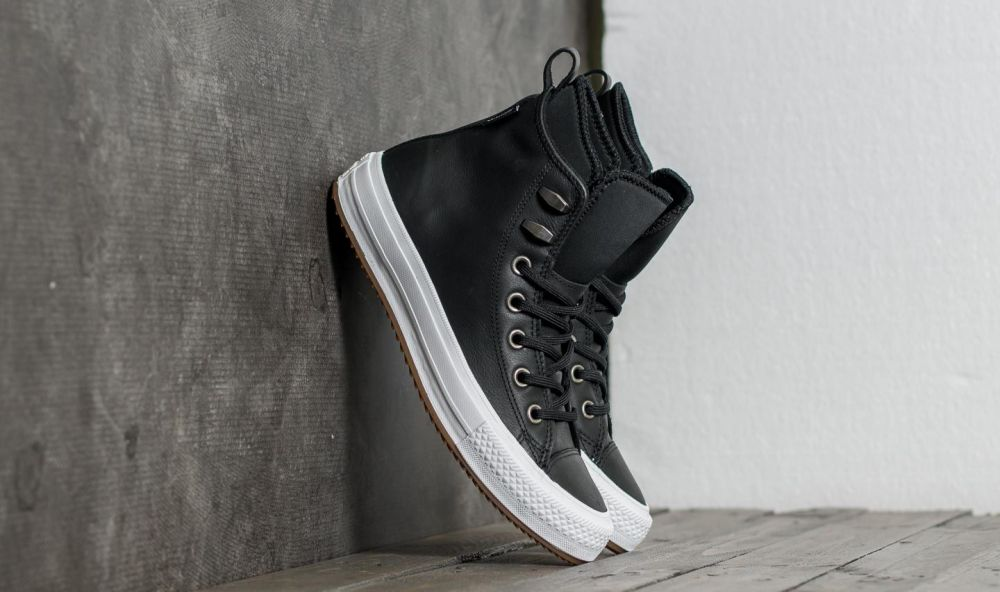 74ee4379eb618 Converse Chuck Taylor All Star Waterproof Boot Hi Black/ Black/ White EUR 36  značky Converse - Lovely.sk