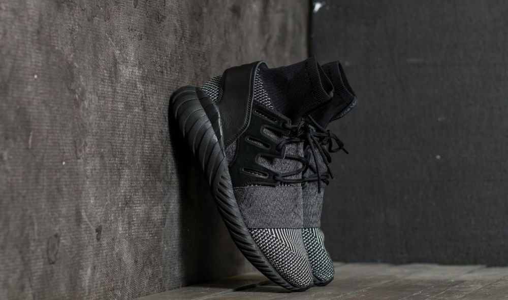adidas Tubular Doom Primeknit Core Black/ Core Black/ Grey Four EUR 41 1/3