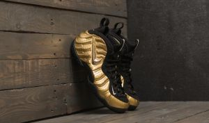 Nike Air Foamposite Pro Metallic Gold/ Black-Black EUR 41