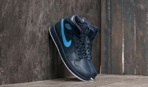 Air Jordan 1 Mid Obsidian/ University Blue-White EUR 40