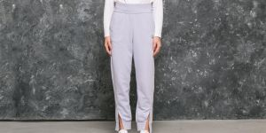 Cheap Monday Haste Small Skull Trousers Dust Lilac S