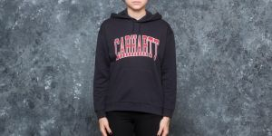 Carhartt WIP W Hooded Division Sweat Dark Navy S