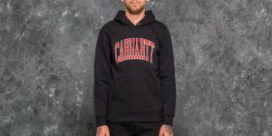 Carhartt WIP Hooded Division Sweat Navy L