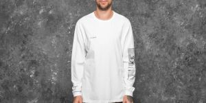 STAMPD New Orders Long Sleeve Tee Cream S
