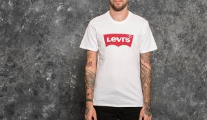 Levi's® Graphic Satin Neck H215 Tee White L