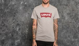 Levi's® Graphic Setin Neck H215 Tee Midtone Heather Grey M