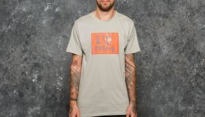 LIFE IS PORNO Amsterdam Sticker Collection Tee Grey S
