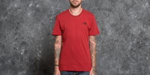 The North Face Shortsleeve Simple Do Tee Cardinal Red S