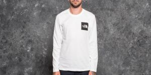 The North Face Longsleeve Fine Tee Tnf White S