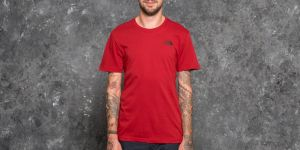 The North Face Shortsleeve Red Box Tee Cardinal Red S