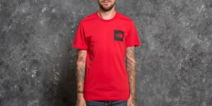 The North Face Shortsleeve Fine Tee Tnf Red M