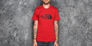 The North Face Easy Tee Cardinal Red S