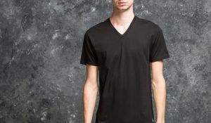 Ralph Lauren 2 Pack V-Neck Tees Black S