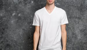Ralph Lauren 2 Pack V-Neck Tees White S