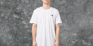The North Face M Short Sleeve Simple Dome Tee White L