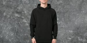 Publish Terry Knit Hoodie Black S