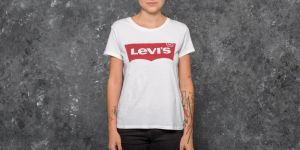 Levi's® The Perfect Large Batwing Tee White S