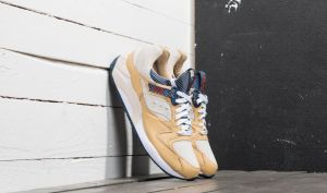 "Saucony x Sneakersnstuff Grid 9000 ""Business Class"" White Wheat/ Birch EUR 40"