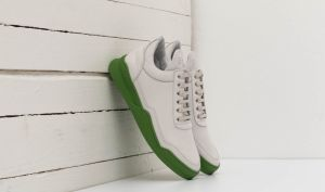 Filling Pieces Low Top Ghost Matt Nubuck Green EUR 42
