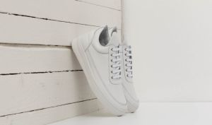 Filling Pieces Low Top Ripple Basic Nappa All White EUR 36