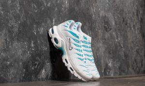 Nike Air Max Plus White/ White/ Light Blue Fury EUR 42