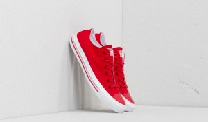 Converse Chuck Taylor All Star OX Enamel Red/ Enamel Red/ White 4.5