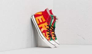 Converse Chuck Taylor All Star Hi Enamel Red/ Yellow/ Egret EUR 40
