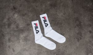 FILA 2 Pack Tennis Socks White