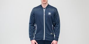 adidas x United Arrows & Sons Classic Track Jacket Collegiate Navy Melange S