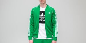 adidas Superstar Track Jacket Green S