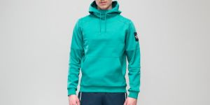 The North Face Fine Box Hoodie Porcelain Green S