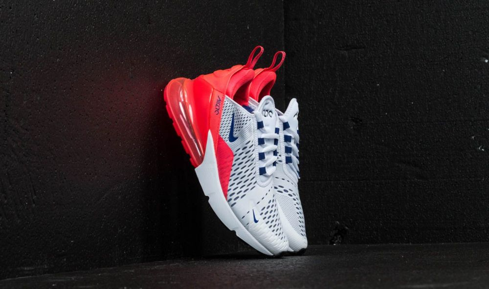 Nike Air Max 270 W White  Ultramarine-Solar Red EUR 37.5 značky Nike -  Lovely.sk 36a046e13a0