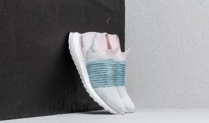 adidas UltraBOOST Laceless W Orchid Tint/ Ftwr White/ Aero Green EUR 37 1/3