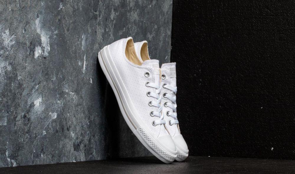 f1a9dddbb12fd Converse Chuck Taylor All Star OX White/ White/ White EUR 36.5 značky  Converse - Lovely.sk