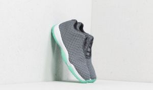 Air Jordan Future Low Wolf Grey/ Emerald Rise EUR 42