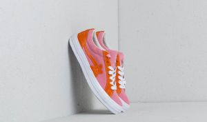 Converse x Tayler The Creator One Star Golf Le Fleur OX Candy Pink/ Orange Peel/ White EUR 39.5