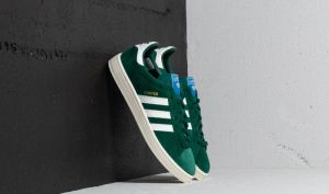 adidas Campus Collegiate Green/ Cloud White/ Chalk White EUR 41 1/3